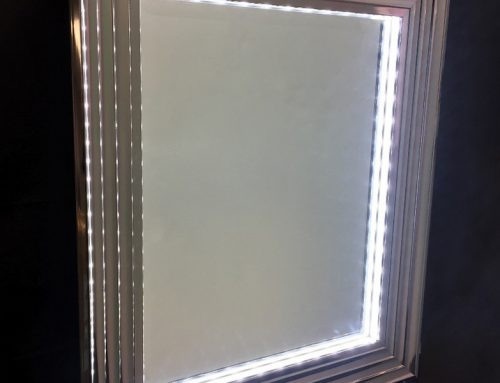 Light Photo Frames and Mirrors